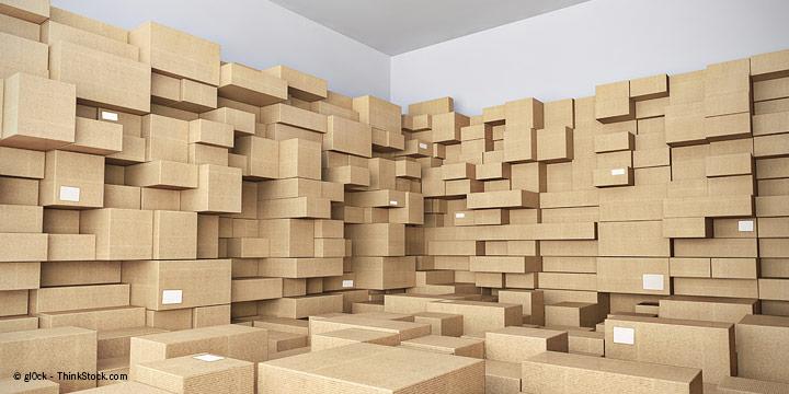 Produkte platzsparend verpacken