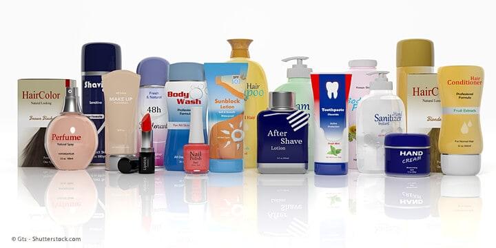 Folienverpackungen für Kosmetik-Industrie