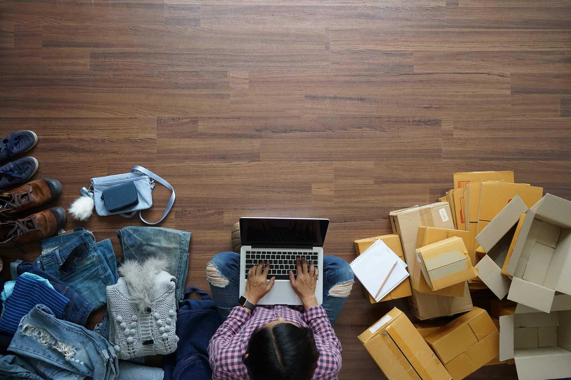 Verpacken im Onlinehandel