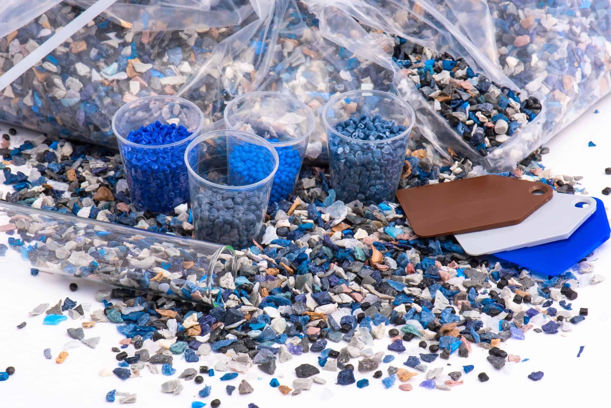 Folie aus Kunststoffregenerat